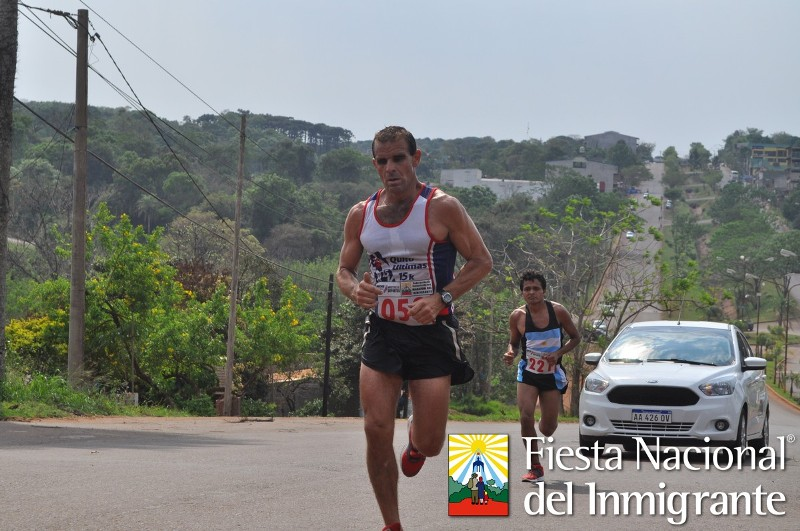 Oberá: los Brasileños hicieron punta en la Maratón Día del Inmigrante