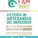 Más de 300 artesanos participarán de una nueva edición de la Feria de Artesanías del Mercosur en Puerto Iguazú