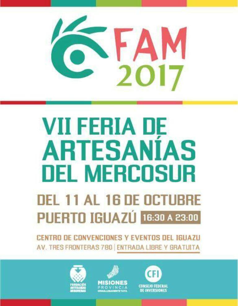 Se realizó el lanzamiento de la VII Feria de Artesanías del Mercosur