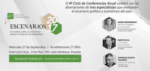 """CEM: Especialistas disertarán en Posadas sobre el """"Escenario Político y Económico 2017"""""""