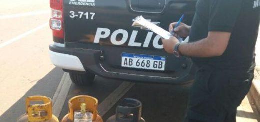 Detienen a vándalos, secuestran garrafas de gas y retienen vehículos en distintos operativos
