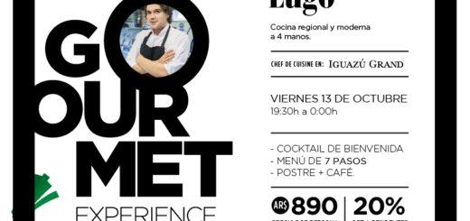 """Iguazú: Realizarán la segunda edición del ciclo de cocina internacional """"Gourmet Experience"""""""