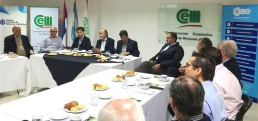 En la CEM, González Fraga expuso alternativas crediticias del Nación