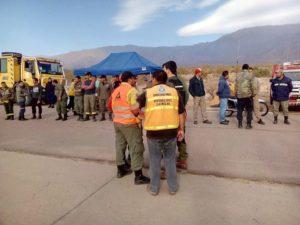 La Rioja: Angustia de pobladores de Santa Vera Cruz por un incendio forestal en la zona desde hace 13 días