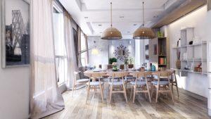 En diseño y decoración de interiores, la madera al natural marca tendencia