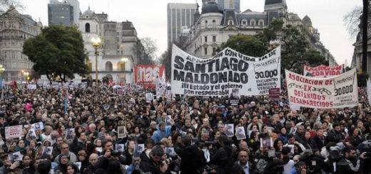 Desaparición de Santiago Maldonado: su familia convocó a una nueva marcha a Plaza de Mayo