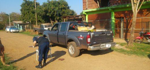 Conductor fuera de control tuvo que ser detenido de un disparo por una patrulla policial en Iguazú