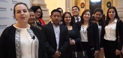"""La escuela secundaria Tekoa Fortín Mbororé, Bachillerato Orientado Provincial N° 111 recibió el premio """"Maestros argentinos"""""""