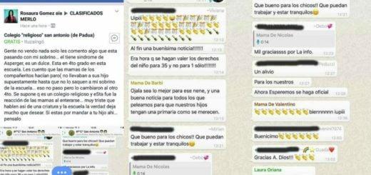El viral más triste: madres festejan que sacaron del curso a un nene con Asperger