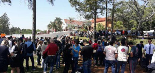 Evacuaron el aeropuerto de Iguazú por amenaza de bomba