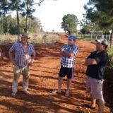 Entregaron plantines de pimiento y tomate a productores hortícolas