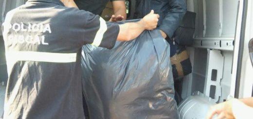Interceptaron un furgón repleto de prendas de contrabando en Apóstoles