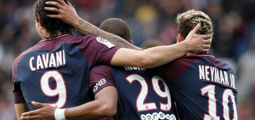 Más barato por docena: el PSG, con Neymar y Edinson Cavani, superó 6 por 2 al Bordeaux