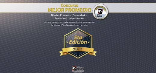 Abierta la inscripción a la 5ta edición del concurso que premia con becas a los mejores promedios de la Argentina