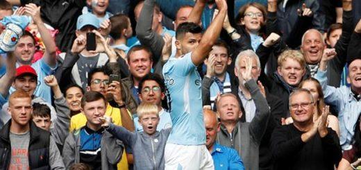 Manchester City-Liverpool, Premier League: un gol de Sergio Agüero en la aplastante goleada del equipo de Guardiola