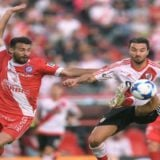 Daniel Angelici se sumó a la polémica y dejó entrever sus dudas sobre el 8-0 de River ante Wilstermann