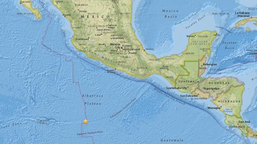 Terremoto de magnitud 6,8 sacude la capital de México