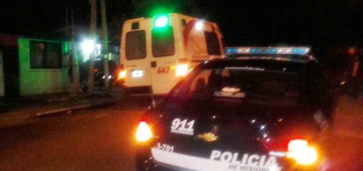 Posadas: policías reanimaron a una mujer, intervinieron en un hecho de violencia de género y secuestraron una moto sin papeles en picadas clandestinas