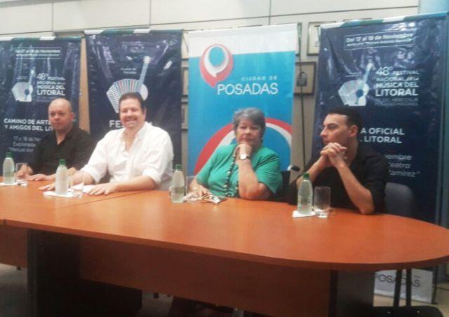 Con destacados artistas Misiones vivirá en noviembre tres noches del 48° Festival Nacional del Litoral