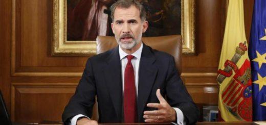 """El rey Felipe advierte que el Estado debe asegurar """"el orden constitucional"""""""