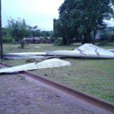 El temporal de ayer afectó a 80 familias en San Ignacio y el municipio trabaja sin descanso para asistirlos