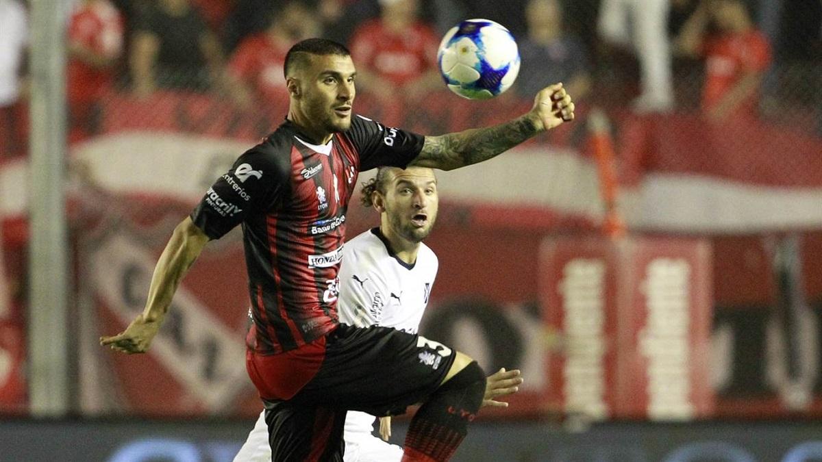 Independiente rescató un punto sobre la hora ante Patronato