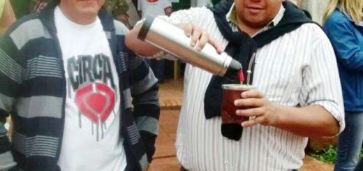 Marcelo Proscopio sufragó en Eldorado y dijo que tras el cese de la lluvia hay gran movimiento de votantes