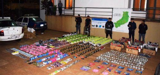 La Policía incautó electrónica y accesorios de contrabando valuados en más de 230 mil pesos en Puerto Iguazú