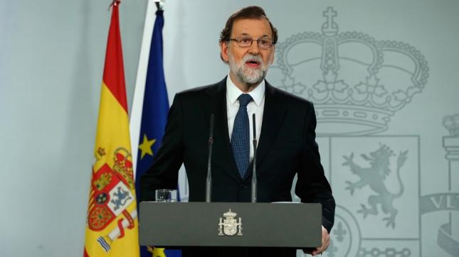 Para Mariano Rajoy «La gran mayoría del pueblo de Cataluña no ha querido participar»