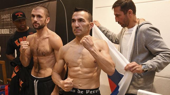 Boxeo: Narváez y Potapov disputarán pelea eliminatoria título gallo OMB