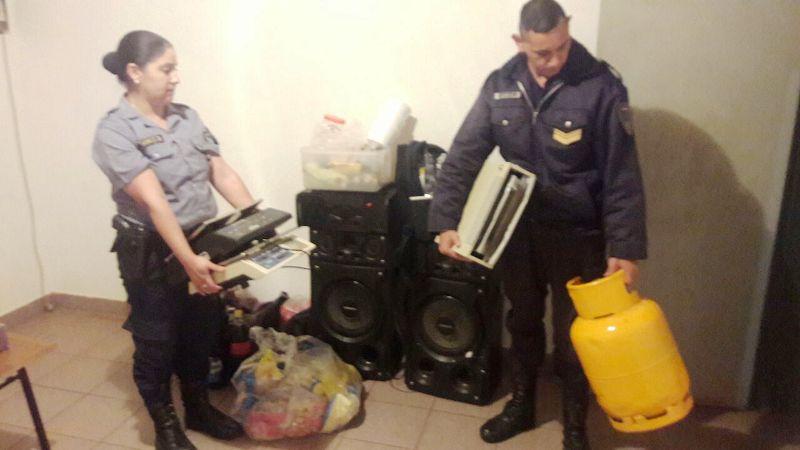 Posadas: recuperaron elementos robados de una casa y están involucrados hermanos