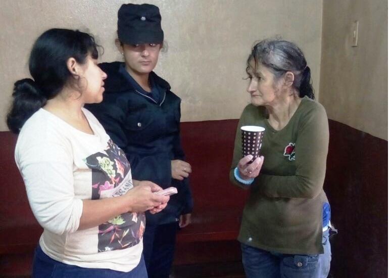 Santa Ana: la mujer con Alzheimer buscada desde anoche fue encontrada hoy caminando hacia Loreto