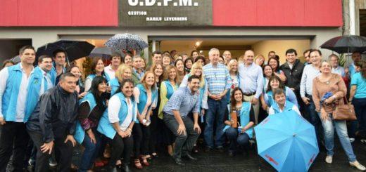 Passalacqua participó del acto de inauguración del Albergue de la UDPM en Posadas