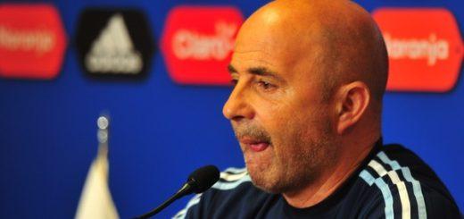 """Jorge Sampaoli aún no definió el equipo y afirmó: """"Estoy convencido de que vamos a ir al Mundial"""""""