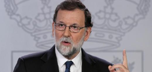 Rajoy propone cesar al presidente de Cataluña y convocar a elecciones