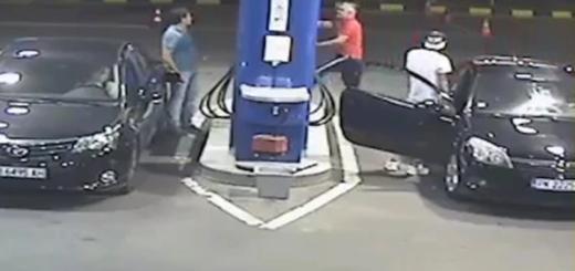 Un joven no quiso apagar su cigarrillo en una gasolinera y recibió una lección que no olvidará en su vida