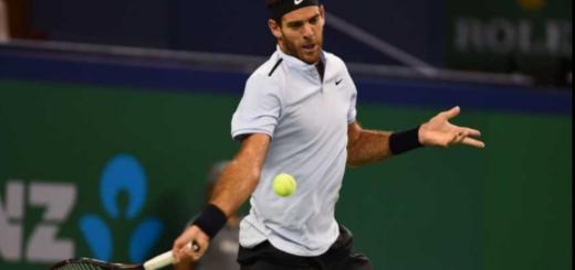 Sin rastros de dolor, Juan Martín Del Potro arrancó set arriba ante Roger Federer en Shanghai