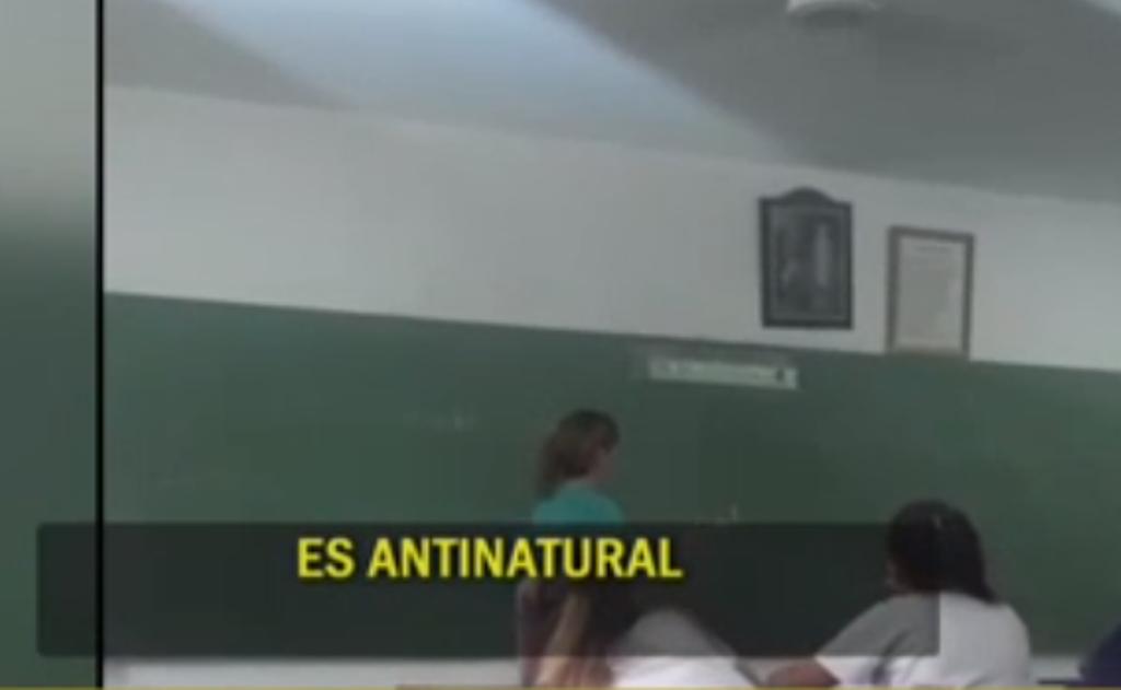Una profesora tucumana a sus alumnos: «La homosexualidad es una enfermedad»