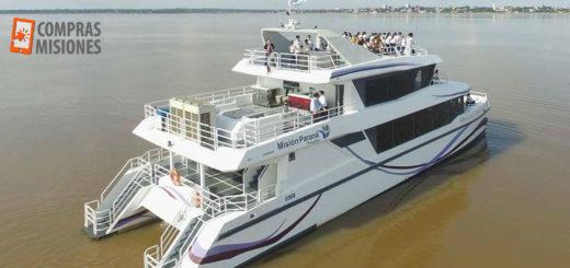 Día de la Madre en el Catamarán: Mañana merendá o cená con ella mientras pasean por el Paraná. Lo contratás en Compras Misiones