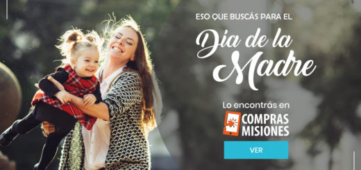 Día de la Madre: En Compras Misiones tenés los mejores regalos y los pagás en cuotas con tarjeta