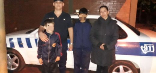 Desesperada búsqueda de dos niños movilizó a sus familias y a la Policía en chacra 233 de Posadas