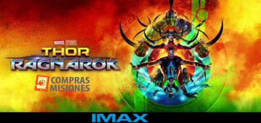 Mañana estrenan Thor: Ragnarok en el IMAX y en Compras Misiones adquirís las entradas con tarjeta y vas directamente al cine