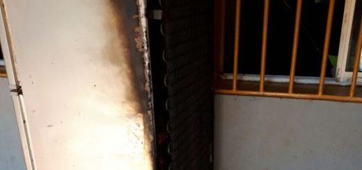Vecinos del barrio San Jorge salvaron a dos nenes de morir en un incendio