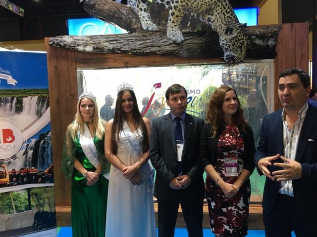 El Iguazú Convention Bureau presento sus propuestas en la FIT 2017
