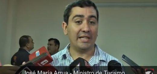 José María Arrúa confirmó que este año el crecimiento del turismo en Misiones será superior al 18%