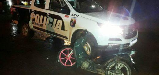 Conductores ebrios y motocicletas sin luces ni papeles a disposición de la justicia en operativos policiales realizados en Posadas