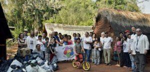 Manos Unidas por Sonrisas en Misiones: Avanzan en la construcción de un Centro de Educación Bilingüe Intercultural Guaraní Yabotí