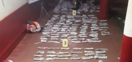 Detuvieron a una mujer que llevaba más de 31 kilos de marihuana en un micro que circulaba por Capioví