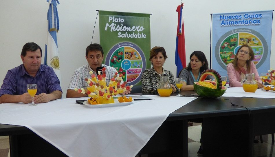 Presentaron la Jornada Salud, Nutrición y Soberanía Alimentaria a realizarse en Posadas