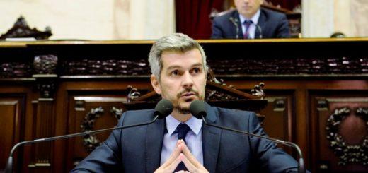 VIVO: el Jefe de Gabinete, Marcos Peña, brinda el informe de gestión en Diputados